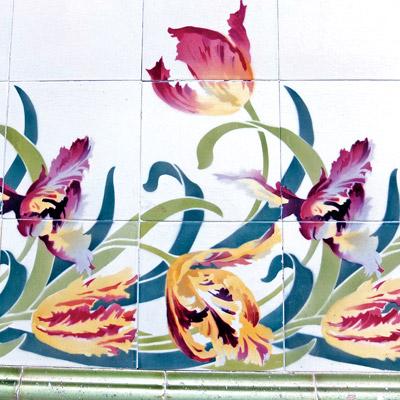Les motifs floraux, la nature, le végétal